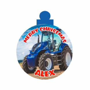 New Holland Christmas Ornament Decoration
